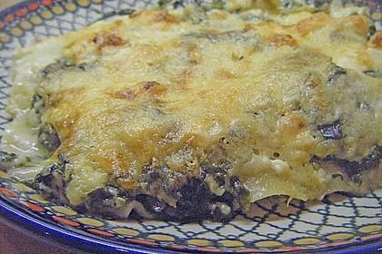 Spinat - Schafskäse - Lasagne 45