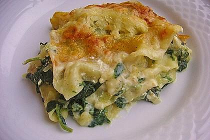 Spinat - Schafskäse - Lasagne 1