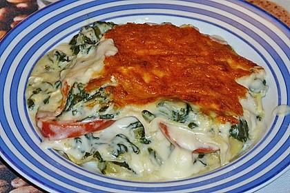Spinat - Schafskäse - Lasagne 35