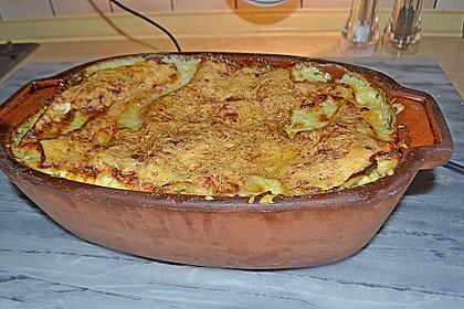 Spinat - Schafskäse - Lasagne 41