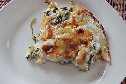 Spinat - Schafskäse - Lasagne 21