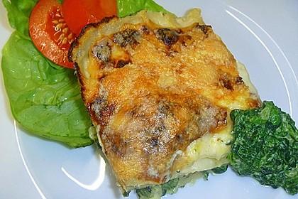Spinat - Schafskäse - Lasagne 18