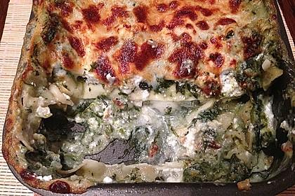 Spinat - Schafskäse - Lasagne 40