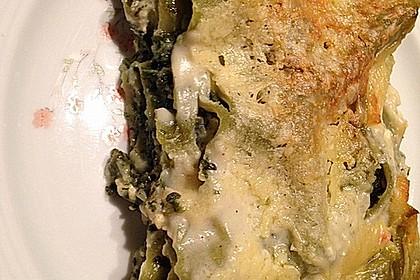 Spinat - Schafskäse - Lasagne 47
