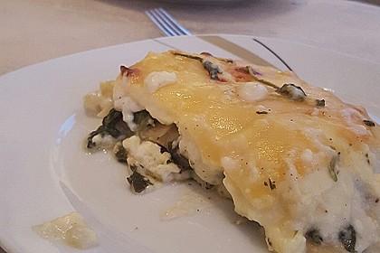 Spinat - Schafskäse - Lasagne 33