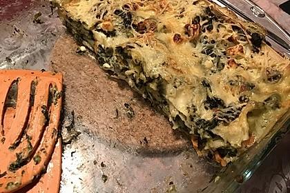Spinat - Schafskäse - Lasagne 22
