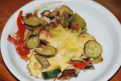 Gemüsepfanne mit Eiern und Käse 20