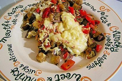 Gemüsepfanne mit Eiern und Käse 23