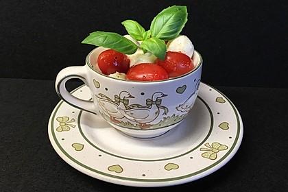 Tomate - Mozzarella - Basilikum (Bild)
