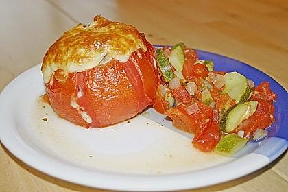 Gefüllte Tomate 1