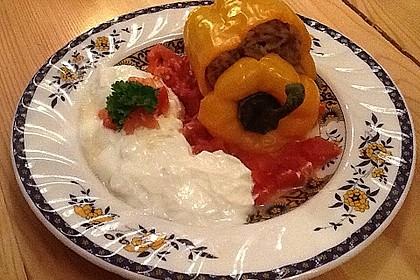 Gefüllte Tomate 4
