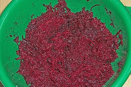 Rote Bete Salat mit Apfel und Walnuss 24