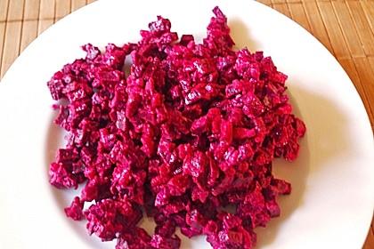 Rote Bete Salat mit Apfel und Walnuss 21