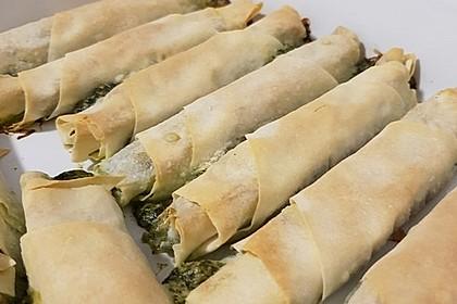 Zeldas Hackfleisch - Börek mit Spinat