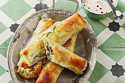 Zeldas Hackfleisch - Börek mit Spinat 2