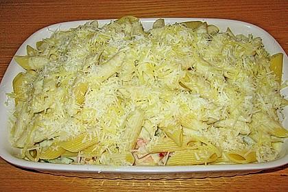Zucchini - Tomaten - Gorgonzola - Pasta 5