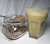 Eis - Frappé - Pulver, kalorienarm, blitzschnell gemacht (Bild)