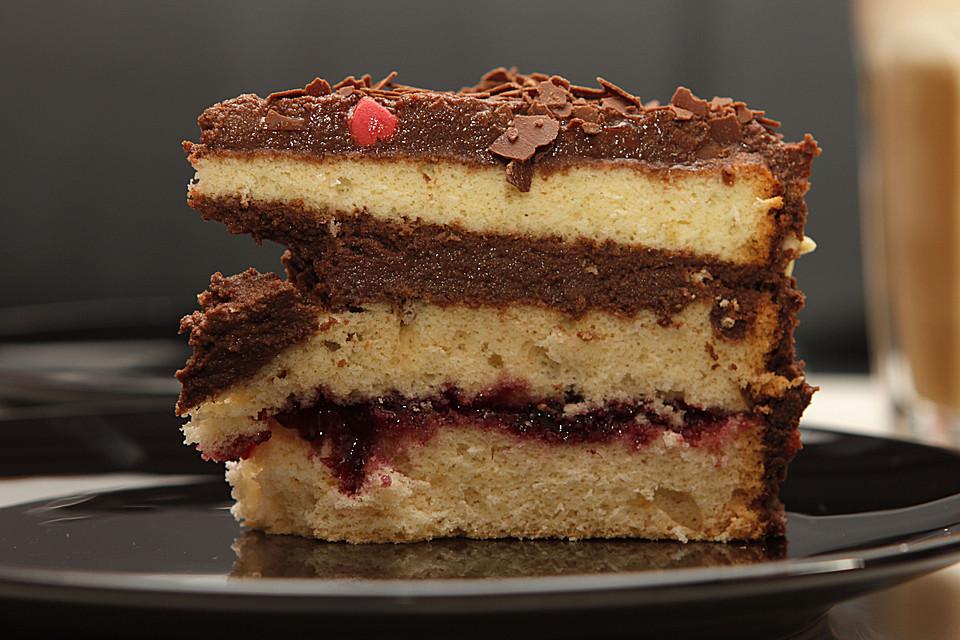 Mini Kühlschrank Für Kuchen : Omas mini schoko sahne torte von no reservations chefkoch