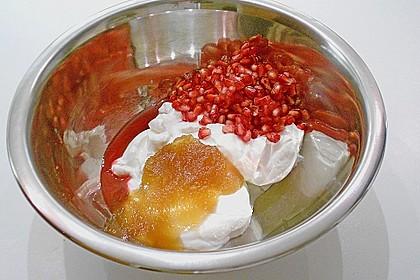 Joghurt mit Granatapfel und Honig 6