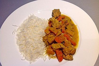 Kürbis - Hähnchen - Curry 4