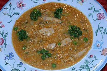 Kürbis - Hähnchen - Curry