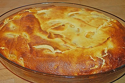 Quark-Grieß-Pfirsich-Auflauf 8