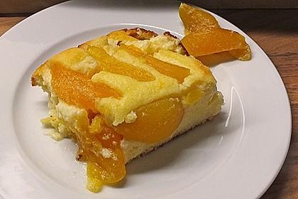Quark-Grieß-Pfirsich-Auflauf 9