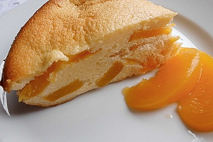 Quark-Grieß-Pfirsich-Auflauf 2