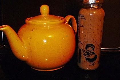 Schwarzer Tee mit Ingwer und Milch 4