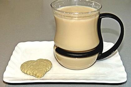 Schwarzer Tee mit Ingwer und Milch 2