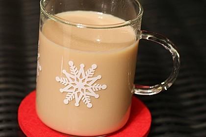 Schwarzer Tee mit Ingwer und Milch 3