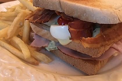New York Club Sandwich 45