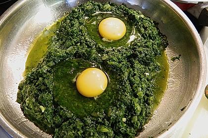 Eier im Beet 13
