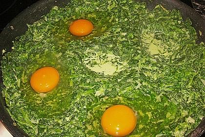 Eier im Beet 12