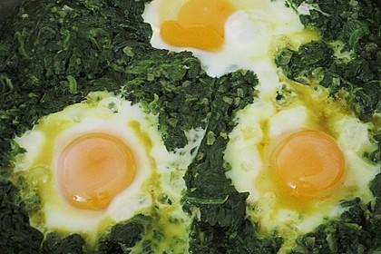 Eier im Beet 11