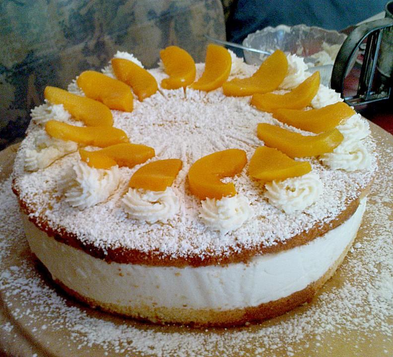 Shanais Schnelle Kase Sahne Torte