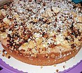 Rhabarber - Mandel - Torte (Bild)