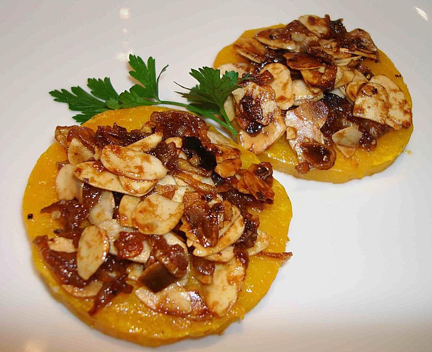 Gebackener Butternuss - Kürbis mit pikanter Zimtkruste von bushcook ...