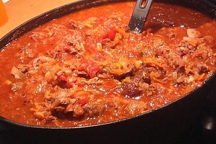 Albertos Nudelsoße aus Suppenfleisch 6