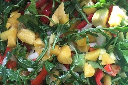 Frischer Mangosalat (Bild)