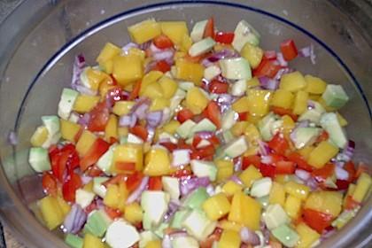 Frischer Mangosalat 10