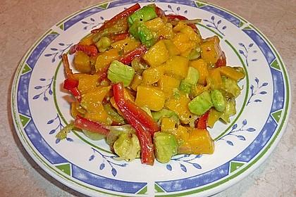 Frischer Mangosalat 7