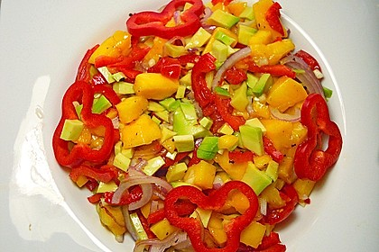 Frischer Mangosalat 5