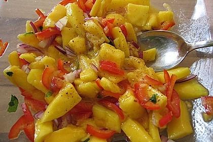 Frischer Mangosalat 8
