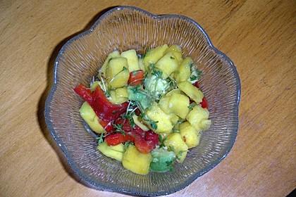 Frischer Mangosalat 9