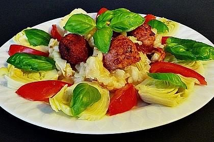 Artischocken - Risotto mit Salsiccia Finocchio