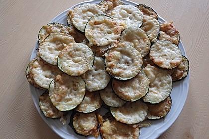 Zucchini mit Parmesan 3