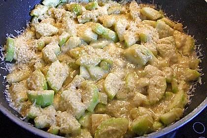 Zucchini mit Parmesan 5