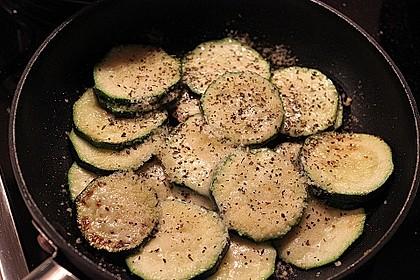 Zucchini mit Parmesan 4