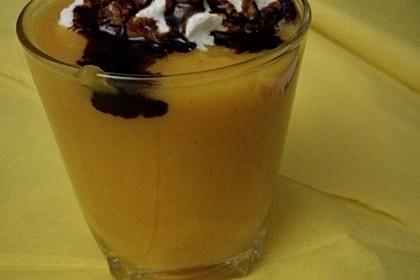 Suppe von Butternusskürbis mit Ingwer 1